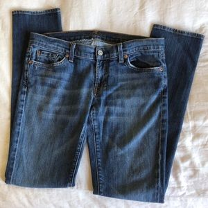 7 FAM Skinny Jeans Size 30 GUC